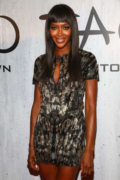 Model Naomi Campbell attends TAO Downtown Grand Opening on September 28, 2013 in New York City