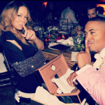 Tuesday Snaps: Nas Celebrates His Birthday with Mariah Carey in NYC