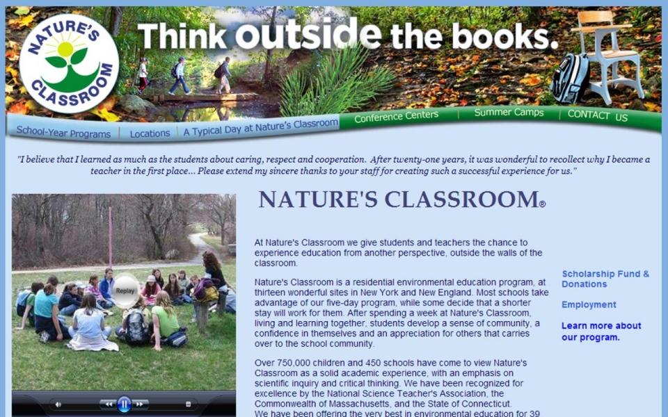 natures-classroom-website