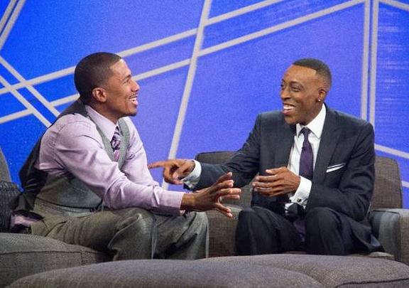 nick cannon & arsenio hall