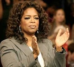 oprah clapping