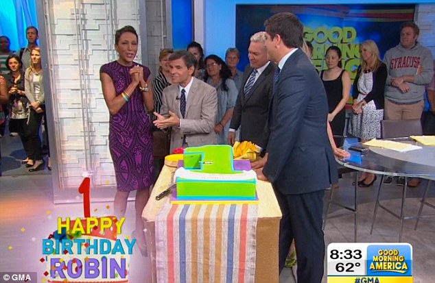 robin roberts bone marrow birthday