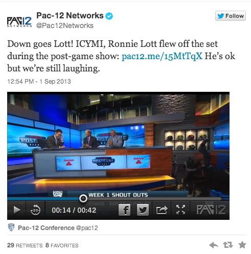ronnie lott falls