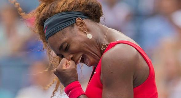 serena williama (us open win over sloane stephens)