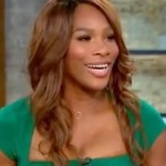 Serena Deftly Avoids Gayle's Question about Her Married Coach/Lover