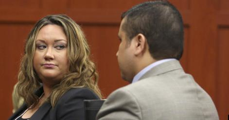 shellie & george zimmerman