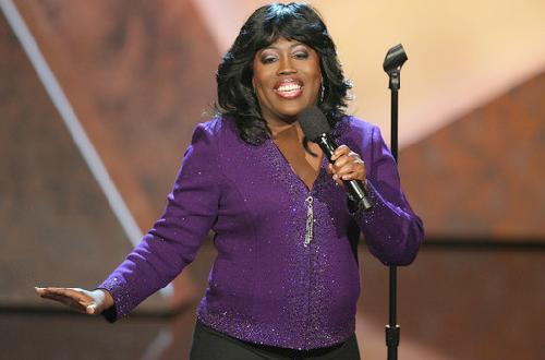 sheryl underwood (with mic)