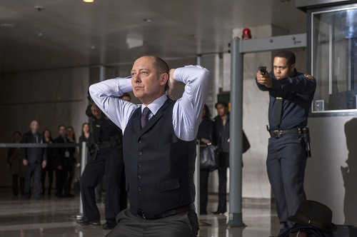 "THE BLACKLIST -- ""Pilot"" -- Pictured: James Spader as ""Red"" Raymond Reddington -"