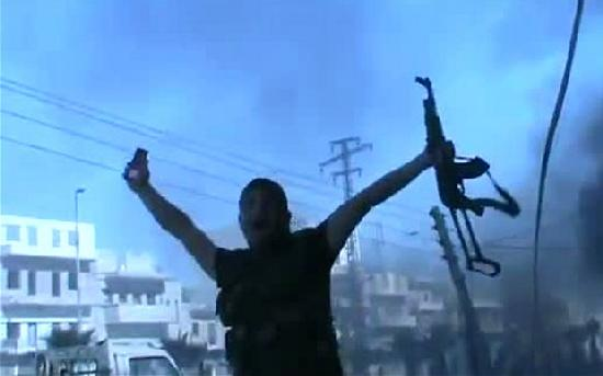 syrian rebel (sihloutte)