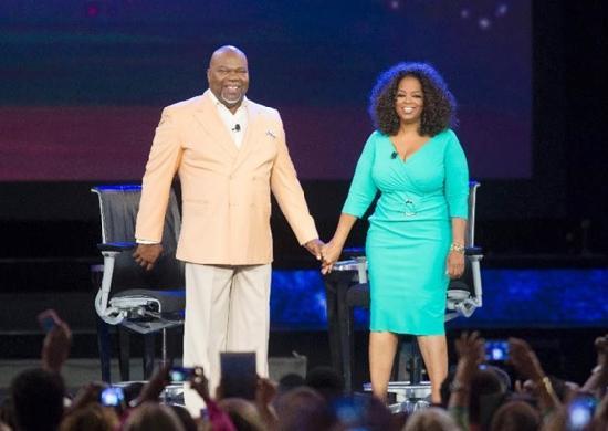 td jakes & oprah (life class at megafest)