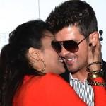 Robin Thicke, Paula Patton Lovey Dovey Amid Cheating Rumors (Pics)