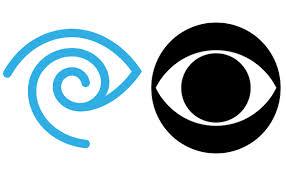 time warner & cbs (logos)