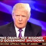 Donald Trump: Obamacare Worse than a Govt. Shutdown
