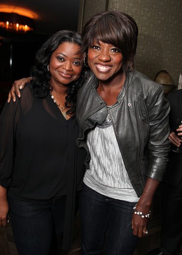Octavia Spencer and Viola Davis
