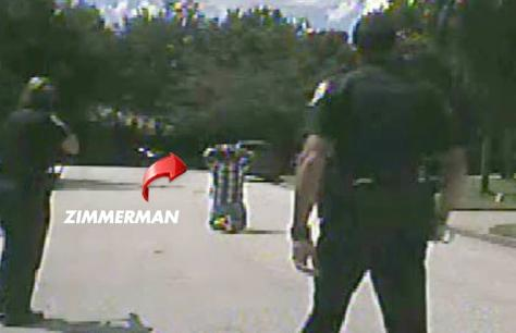 zimmerman on his knees
