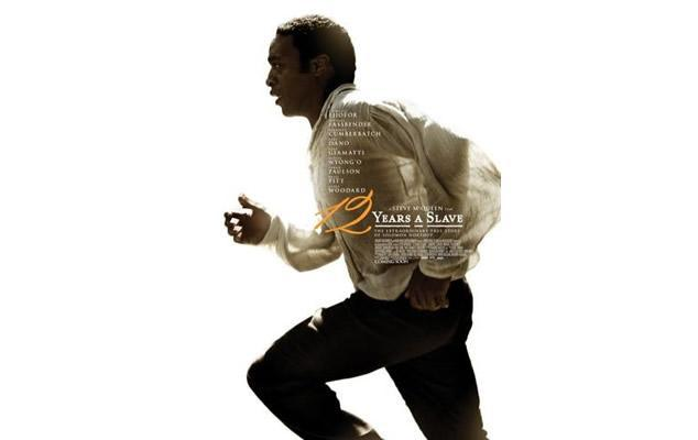 '12 years a slave' poster