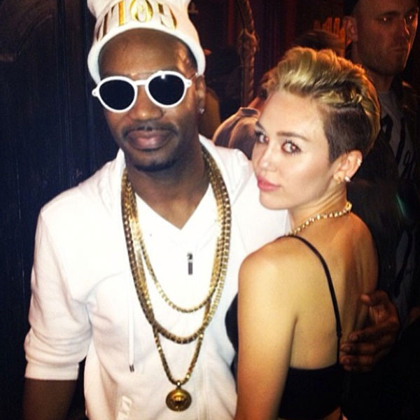 Miley Cyrus Juicy j