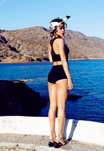 Rihanna Greece