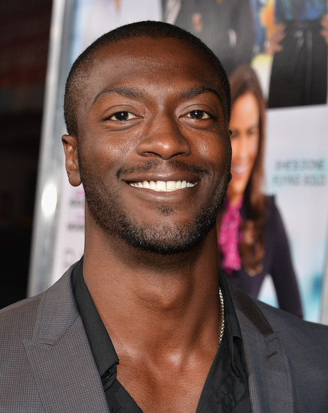 "Actor Aldis Hodge attends the premiere of Fox Searchlight Pictures' ""Baggage Claim"" at Regal Cinemas L.A. Live on September 25, 2013 in Los Angeles"