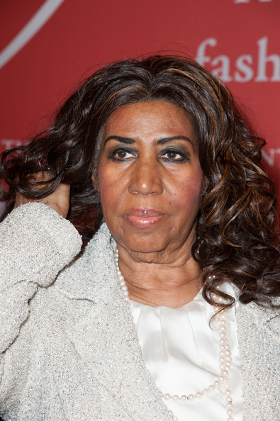 SingerAretha Franklin attends the 30th Annual Night Of Stars presented by The Fashion Group International at Cipriani Wall Street on October 22, 2013 in New York City