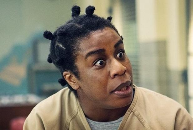 """Uzo Udube as Crazy Eyes in """"Orange is the New Black"""""""