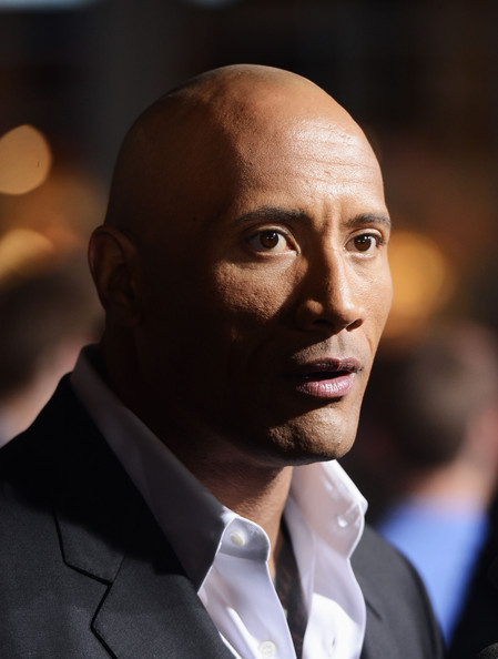 "Dwayne ""The Rock"" Johnson attends the premiere of Paramount Pictures' ""G.I. Joe:Retaliation"" at TCL Chinese Theatre on March 28, 2013 in Hollywood"