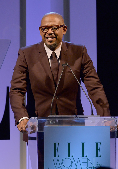 Actor Forest Whitaker speaks onstage at ELLE's 20th Annual Women In Hollywood Celebration at Four Seasons Hotel Los Angeles at Beverly Hills on October 21, 2013 in Beverly Hills