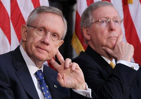 senate leaders (Harry Reid & Mitch McConnell)