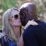 Heidi Klum & Seal Kiss and Make Peace After Ugly Divorce Last Year