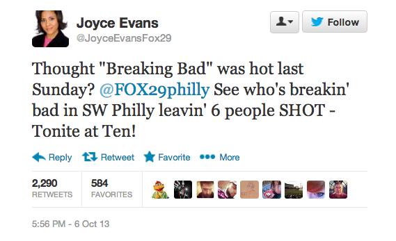 joyce evans tweet