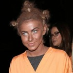 Julianne Hough in Blackface for Halloween Costume (Pics)