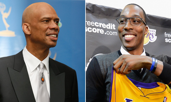 kareem abdul-jabbar & dwight howard 1