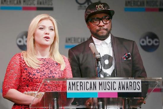 kelly clarkson & will i am