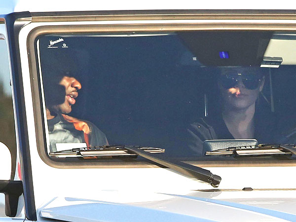 Lamar and Khloe head to Kris Jenner's home