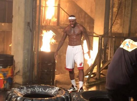 lebron (fire & tires)