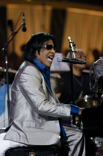 "Little Richard performs during the annual PBS ""A Capitol Fourth"" concert at the US Capitol on July 3, 2011 in Washington, DC"