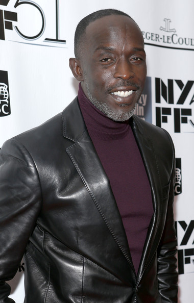"Actor Michael K. Williams attends the ""12 Years A Slave"" premiere during the 51st New York Film Festival at Alice Tully Hall at Lincoln Center on October 8, 2013 in New York City"