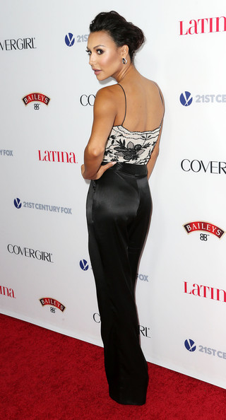 """Actress Naya Rivera attends Latina Magazine's """"Hollywood Hot List"""" Party at The Redbury Hotel on October 3, 2013 in Hollywood"""