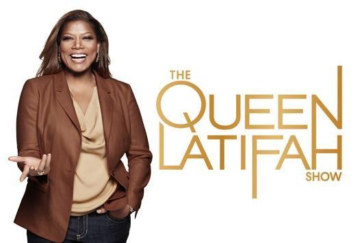 queen latifah show logo