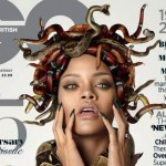 A Nude Rihanna Goes Medusa in British GQ Cover Spread (Pics – Look!)