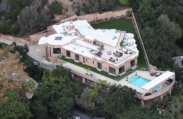Rihanna's Pacific Palisades home