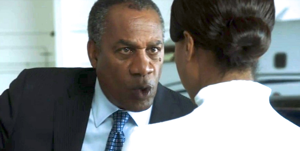 """You have to be twice as good as them to get half of what they have!"" Rowan (Joe Morton) to Olivia (Kerry Washington) in ""Scandal"" Season 3 Premiere ""It's Handled"""