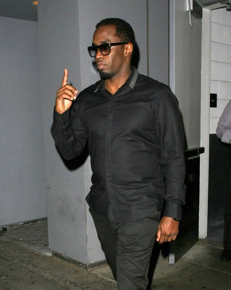 Sean Combs takes his girlfriend Cassie out to dinner at Hakkasan restaurant in Beverly Hills on October 14, 2013
