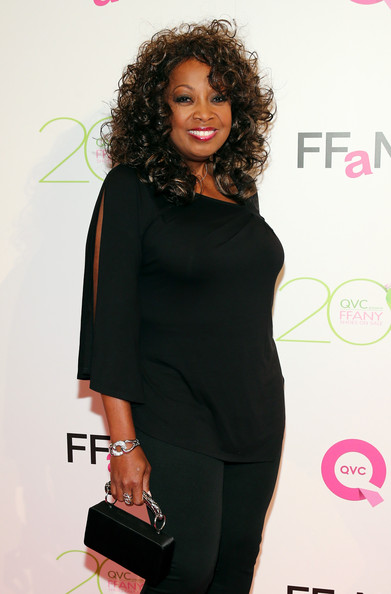 """Star Jones attends QVC Presents """"FFANY Shoes On Sale"""" at Waldorf Astoria Hotel on October 1, 2013 in New York City"""
