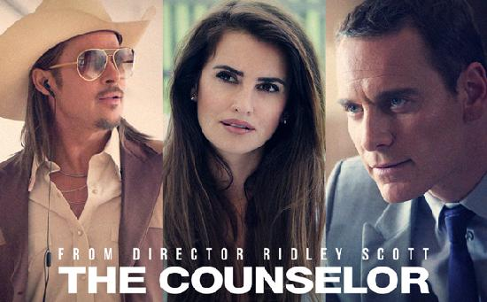the counselor (pitt cruz fassbender)
