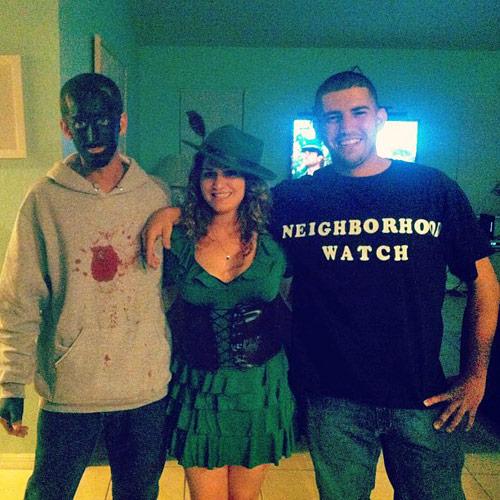 trayvon - zimmerman halloween