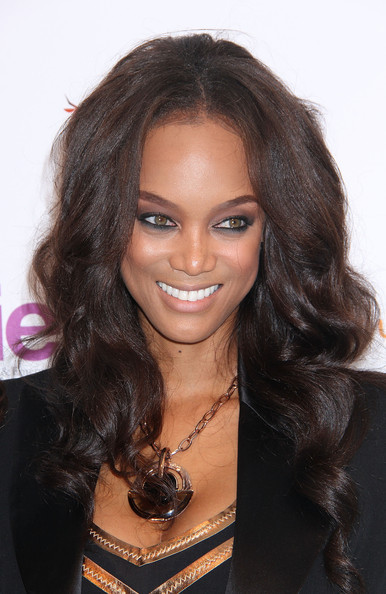 Tyra Banks attends day 2 of the 4th Annual WIE Symposium at Center 548 on September 21, 2013 in New York City