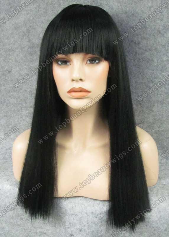 The Yaki straight [Tyra-Banks style] wig