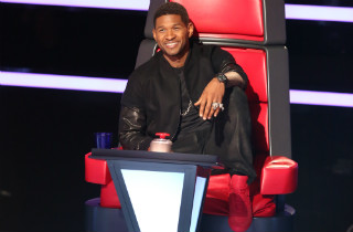 "Usher on ""The Voice"""