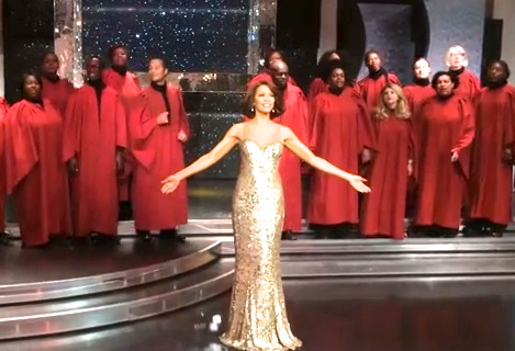 whitney london tussauds gospel choir